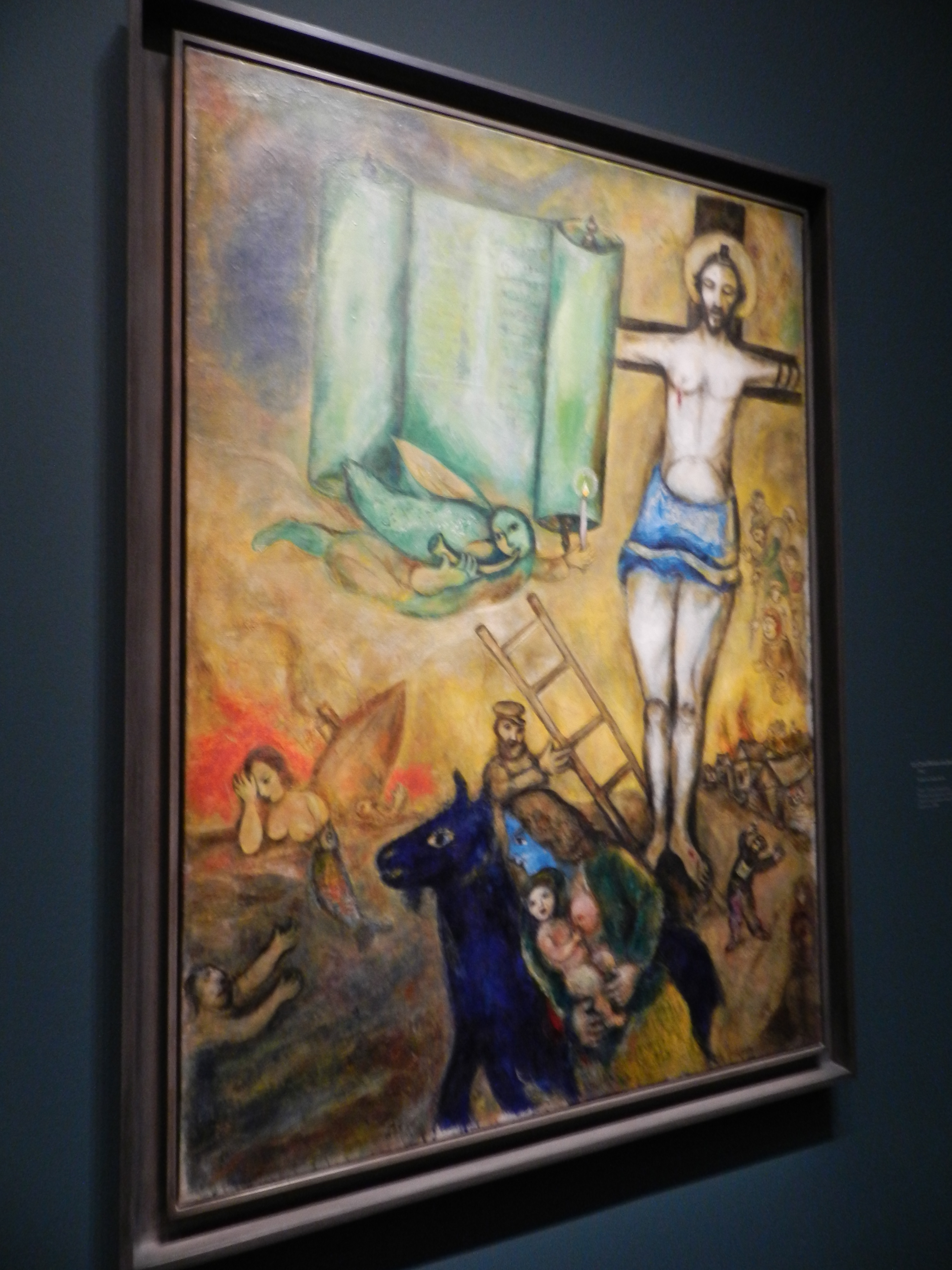 Marc Chagall: The Colour of Love, reviewed by Shanna Lee ... Chagall Crucifixion In Yellow