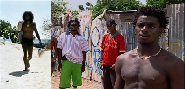 Figure 6. Countryman in the movie of the same title;, and some gangsters in Third World Cop.